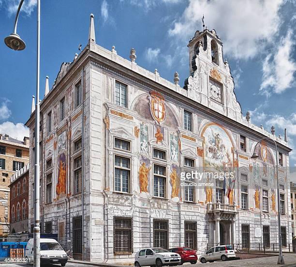 st. george palace. genova. immagine a colori - palazzo reale foto e immagini stock