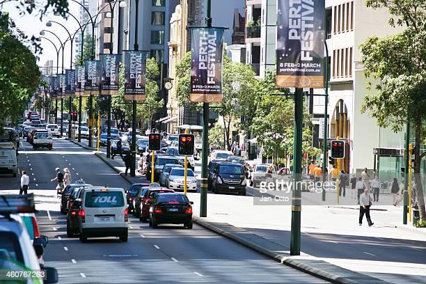 St. George Terrace in Perth, Australia.