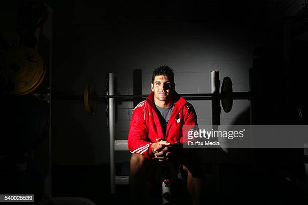 St GeorgeIllawarra Dragons' player Trent Barrett says he is prepared for to play after recovering from an illness 23 March 2006 ILW SPORT Picture by...