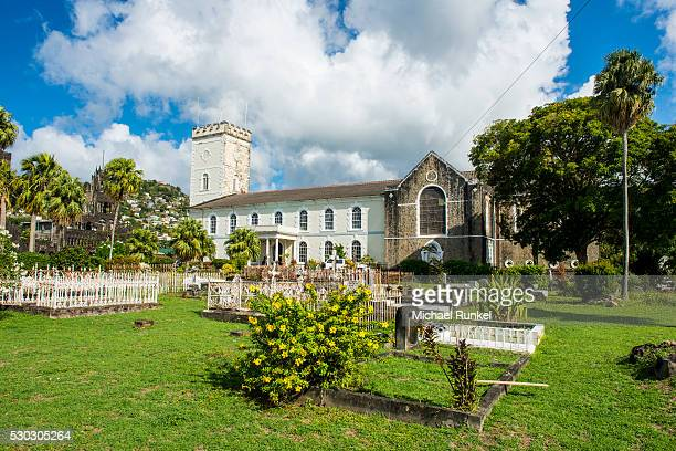 St. George's Cathedral, Kingstown, St. Vincent, St. Vincent and the Grenadines, Windward Islands, West Indies, Caribbean, Central America