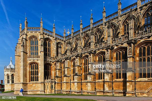 St George's chapel at Windsor castle, Berkshire, England