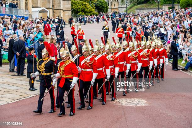 St George's Chapel on June 17 2019 in Windsor England