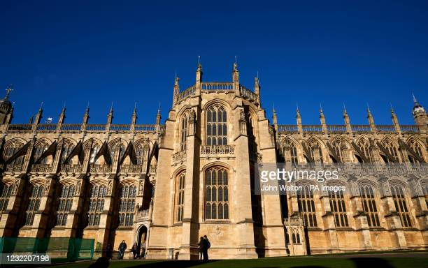 St George's Chapel, Windsor Castle in Berkshire. Picture date: Wednesday December 2019 .