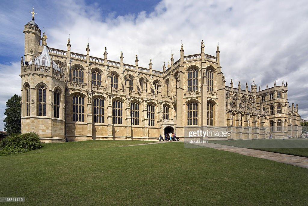 St George's Chapel, Windsor Castle : Stock Photo