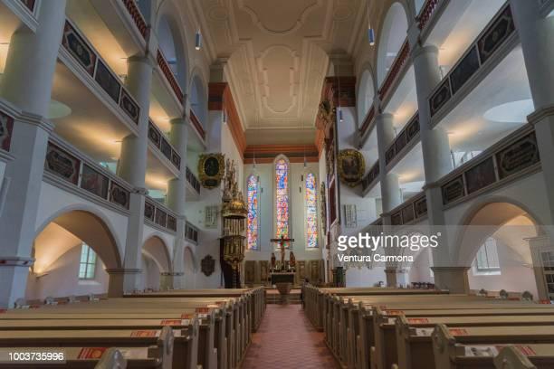 st. george's church - eisenach, germany - アイゼナッハ ストックフォトと画像