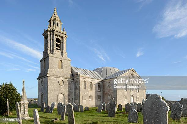 st george's church, portland, dorset - 英国 ドーセット ストックフォトと画像