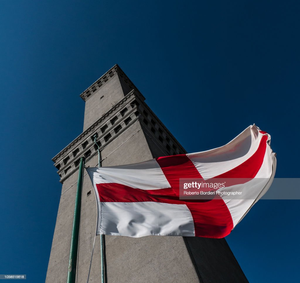 St. George's cross : Foto stock