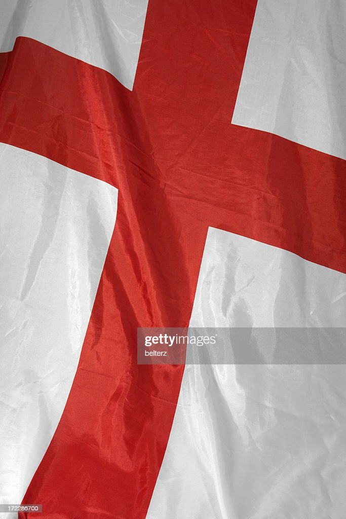 st georges flag : Stock Photo