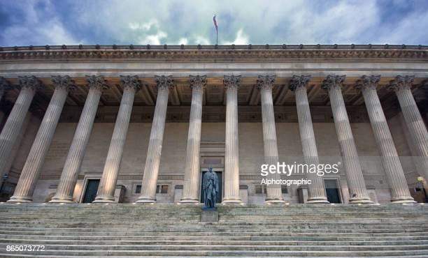 st georges hall liverpool - windsor england stock photos and pictures