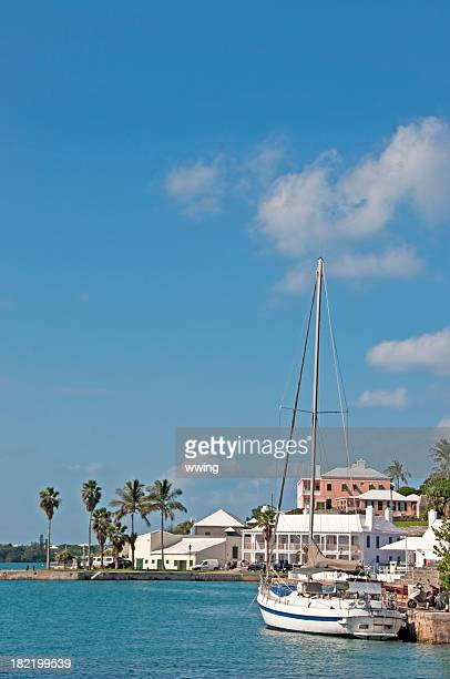st. georges inner harbor, bermuda - bermuda stock pictures, royalty-free photos & images