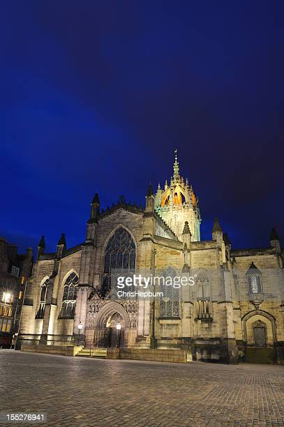 st. giles cathedral, edinburgh - st. giles cathedral stock pictures, royalty-free photos & images