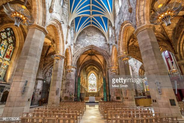 st giles' cathedral - st. giles cathedral stock pictures, royalty-free photos & images