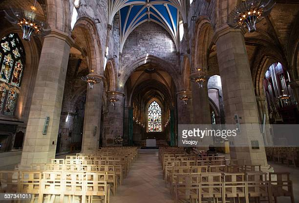 st. giles church edinburgh - st. giles cathedral stock pictures, royalty-free photos & images