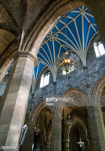 st. giles church roof edinburgh - vsojoy stock pictures, royalty-free photos & images