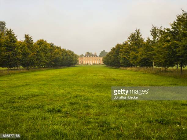 St Giles House is photographed on September 10 2015 in Dorset England The grounds threequartermilelong avenue of beech trees