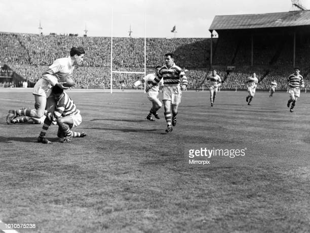 St Helens 132 Halifax Rugby League Challenge Cup Final match Wembley Stadium London Saturday 28th April 1956