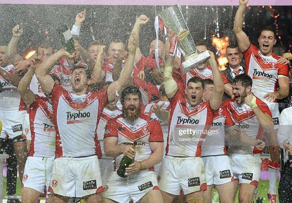St Helens v Wigan Warriors - First Utility Super League: Grand Final : News Photo