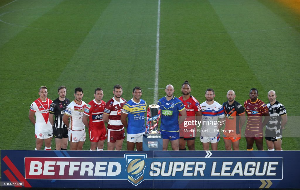 2018 Betfred Super League Club Season Launch - John Smith's Stadium : News Photo