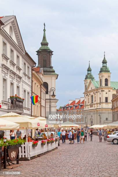 st. hyacinth's church & monastery of pauline fathers in warsaw - monastery warsaw stock pictures, royalty-free photos & images