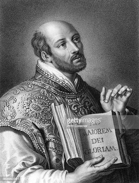 St Ignatius of Loyola 16th century Spanish soldier and founder of the Jesuits Inigo Lopez de Loyola founded the Society of Jesus together with 6...