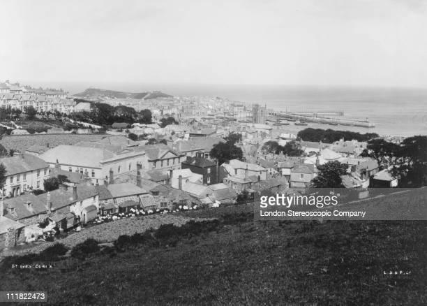 St Ives Cornwall circa 1910