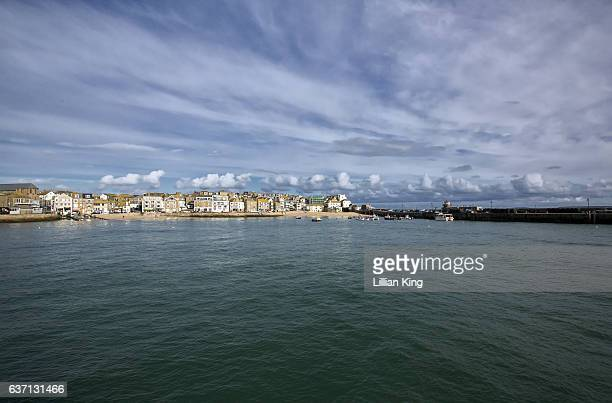 st ives cornwall - st ives stock pictures, royalty-free photos & images