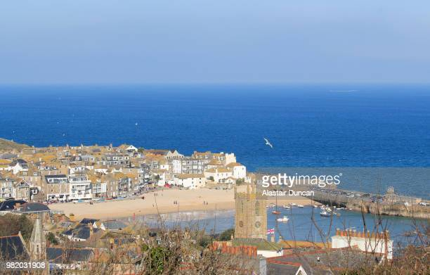 st ives, cornwall - st ives stock pictures, royalty-free photos & images