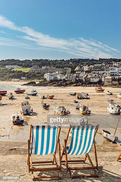st ives, cornwall, uk - cornwall england stock pictures, royalty-free photos & images