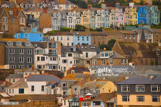 st ives, cornwall, united kingdom - cottage stock pictures, royalty-free photos & images