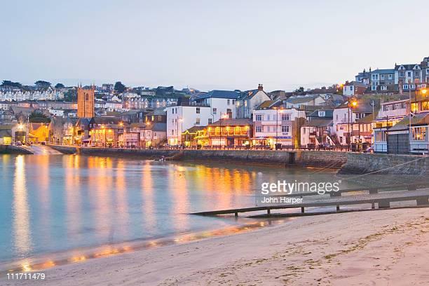 St. Ives, Dusk, Cornwall