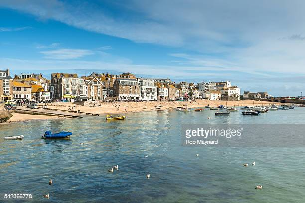 st ives - southwest england stock photos and pictures