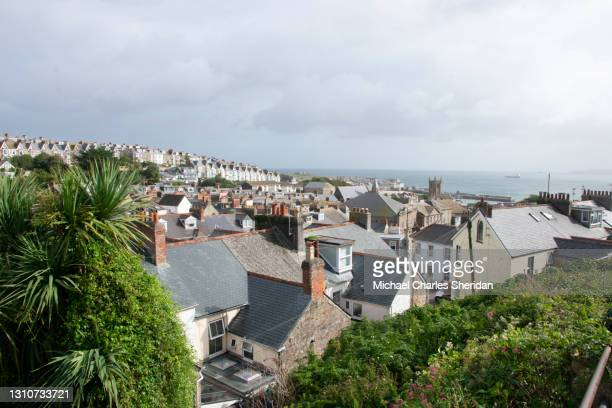 st ives town - st. ives cornwall stock pictures, royalty-free photos & images