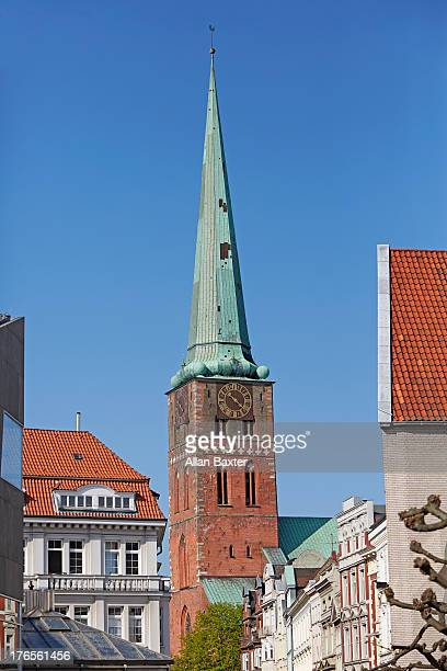 St Jacob's church in Lubeck