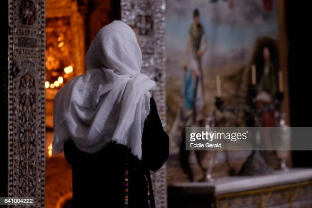 st james church in the armenian quarter old city jerusalem - pilgrims stock photos and pictures