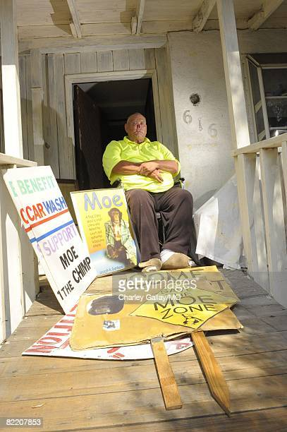St James Davis at home on July 29 2008 in West Covina California