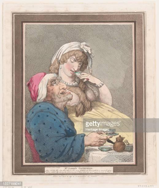 St James's Courtship April 10 1799 Artist Thomas Rowlandson