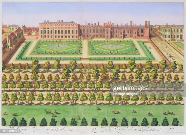 St James's Palace, London, 1730. Situated on the Mall just to the north of St James's Park, St James's Palace was commissioned by Henry VIII. It...