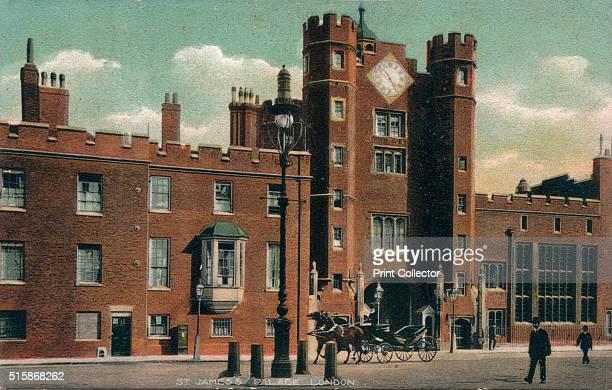 St. James's Palace, London', circa 1910, .. Artist: Unknown.