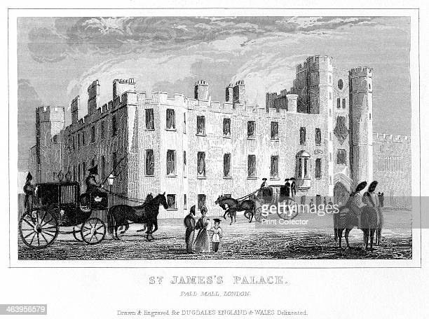 St James's Palace Pall Mall Westminster London Situated on the Mall just to the north of St James's Park St James's Palace was commissioned by Henry...