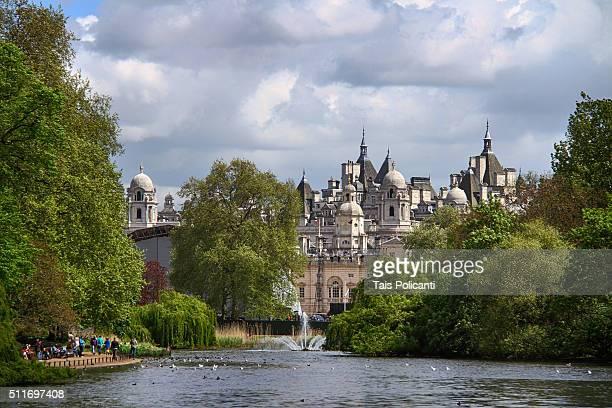 St. James's Park pond in London