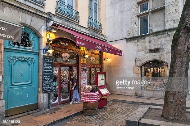 St Jean neighbourhood Old Lyon, France