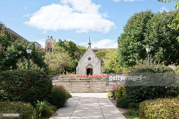 st. joan of arc chapel - st. joan of arc stock photos and pictures