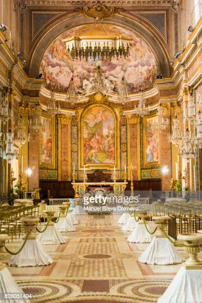 st john and paul basilica - church wedding decorations stock pictures, royalty-free photos & images