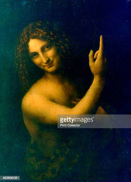 'St John the Baptist' 15131516 John the Baptist is regarded as a prophet by three religions Christianity Islam and Mandaeanism Louvre Paris France