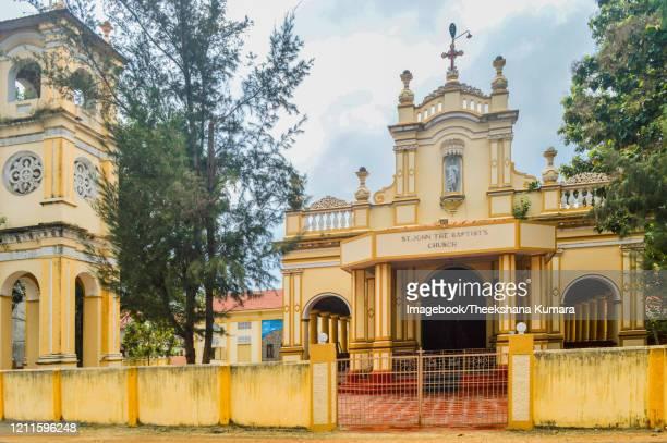 st. john the baptist church hospital road,jaffna, sri lanka. - imagebook stock pictures, royalty-free photos & images