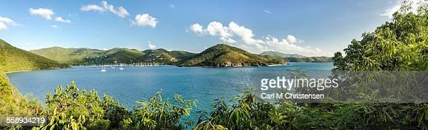 St. John US Virgin Islands panorama