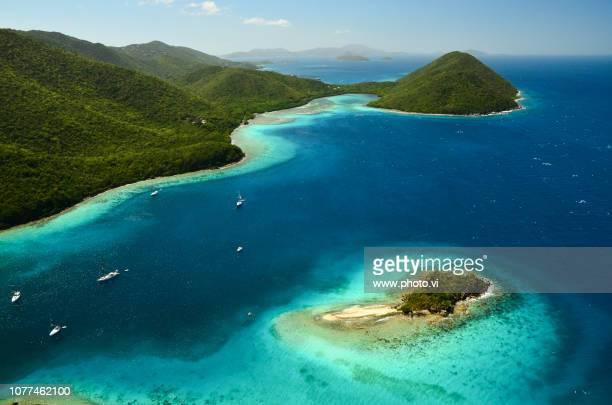 st. john u.s. virgin islands - caribbean stock pictures, royalty-free photos & images