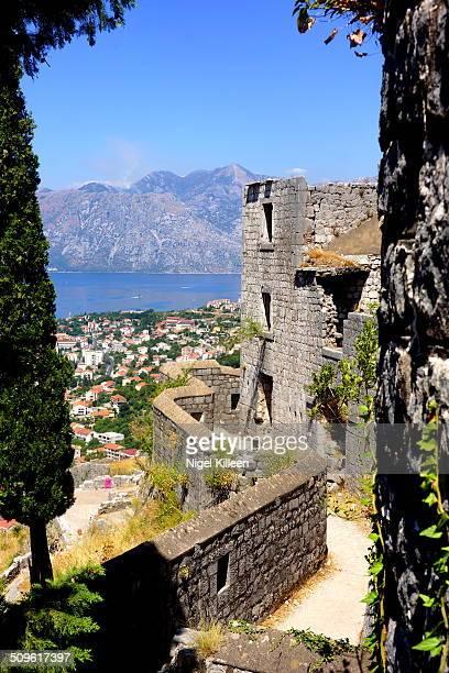 St John's Castle high above Kotor
