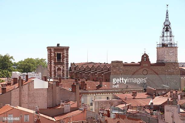 cathédrale st-jean, perpignan - france - pejft stock pictures, royalty-free photos & images
