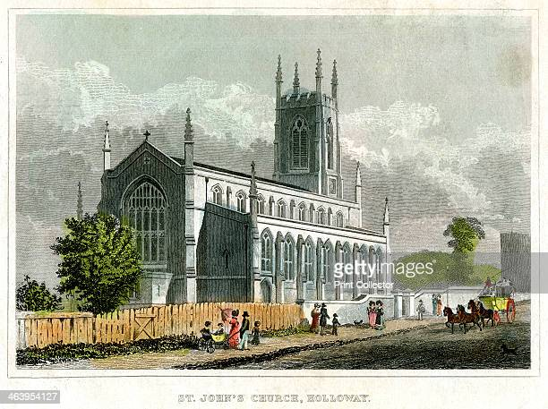 St John's Church, Holloway, Islington, London.